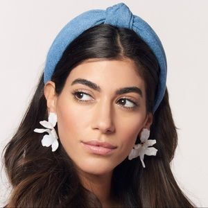 Lele Sedoughi Small Paper Lilly Earrings
